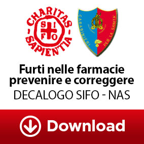 Decalogo Furto farmacie FIFO NAS